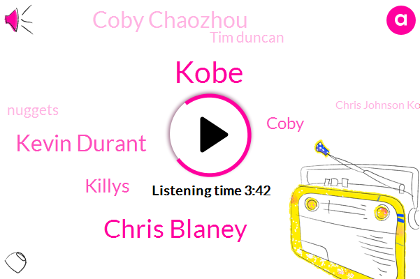 Kobe,Chris Blaney,Kevin Durant,Killys,Coby,Coby Chaozhou,Tim Duncan,Nuggets,Chris Johnson Koby,Iman Shumpert,Tennis,Twitter,NBA,Toseh