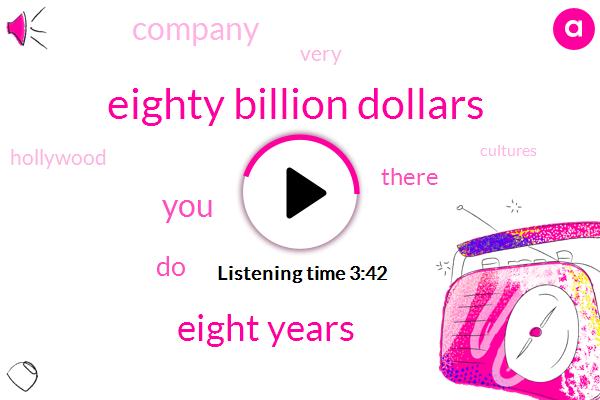 Eighty Billion Dollars,Eight Years