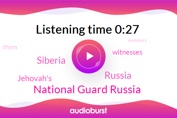 Listen: More Jehovah's Witnesses convicted, tortured in Russia