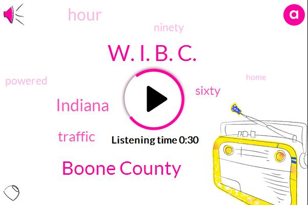 W. I. B. C.,Boone County,Indiana