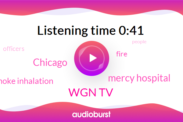 Wgn Tv,Chicago,Smoke Inhalation,Mercy Hospital