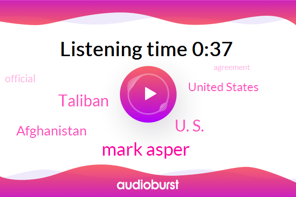 Listen: Esper says Taliban deal is promising but not without risk