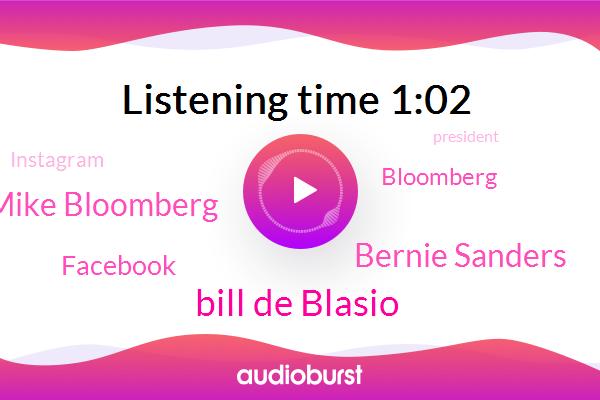 Bill De Blasio,Bernie Sanders,President Trump,Jackson Mississippi,Pearl River,Facebook,Mike Bloomberg,Bloomberg,New York City,ABC,Instagram