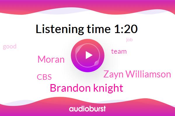 Brandon Knight,Zayn Williamson,Moran,CBS