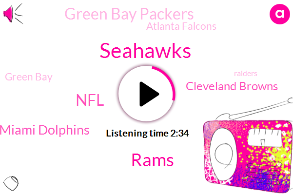 Seahawks,Rams,Miami Dolphins,NFL,Cleveland Browns,Green Bay Packers,Atlanta Falcons,Green Bay,Raiders,Baker Mayfield,Bobby Mccain,Jay Farner,Shay,Bruce Irvin,Falcons,Thirty Seven Yard
