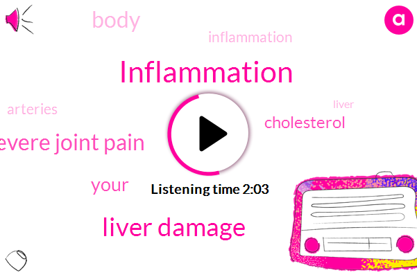 Inflammation,Liver Damage,Severe Joint Pain