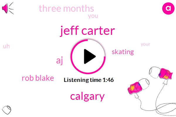 Jeff Carter,Calgary,Rob Blake,AJ,Skating,Three Months