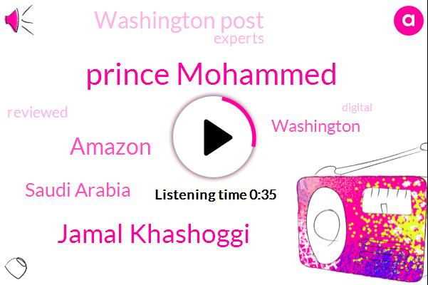 Saudi Arabia,Amazon,Prince Mohammed,Washington,Washington Post,Jamal Khashoggi