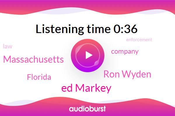 Massachusetts,Florida,Ed Markey,Ron Wyden