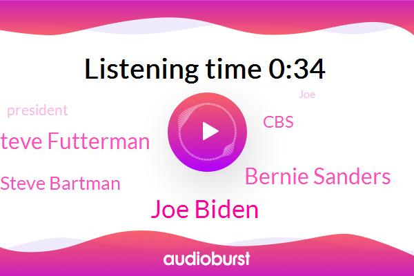 Joe Biden,Bernie Sanders,CBS,Steve Futterman,Steve Bartman,President Trump
