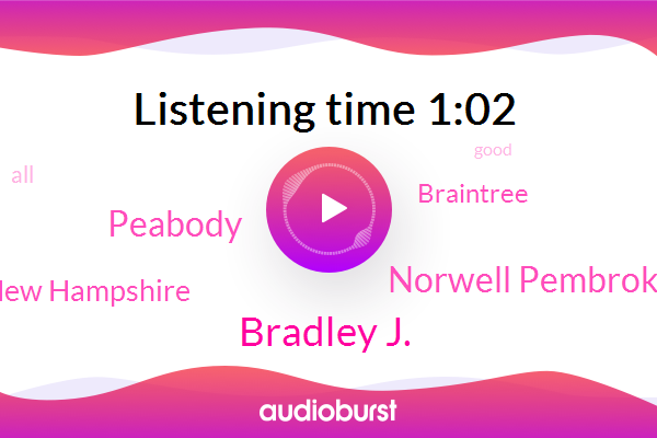Peabody,New Hampshire,Bradley J.,Braintree,Norwell Pembroke