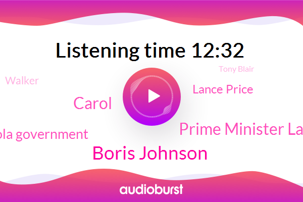 Government,Boris Johnson,Prime Minister Lance,Carol,Prime Minister,Carola Government,Lance Price,Britain,BBC,Director Of Communications,Walker,Political Analyst,Tony Blair,Brexit Brexit,Cobra,Yorkshire,Donna,Labor Party,Sakir Stammer