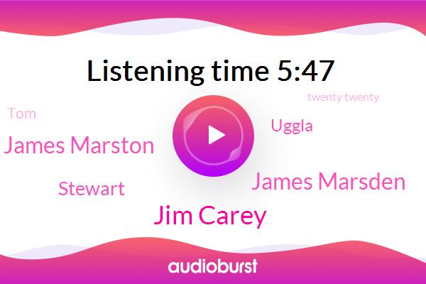 Jim Carey,Twenty Twenty,Nintendo,Owls,James Marsden,James Marston,Stewart,Uggla,Pacific,San Francisco,TOM