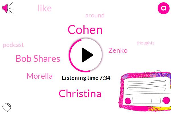 Cohen,Christina,Zenko,Morella,Bob Shares