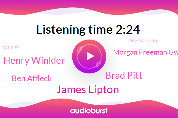 James Lipton,Cancer,Writer,Brad Pitt,Henry Winkler,New York City,Ben Affleck,Morgan Freeman Gwyneth Paltrow