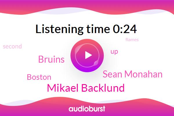 Bruins,Mikael Backlund,Boston,Sean Monahan