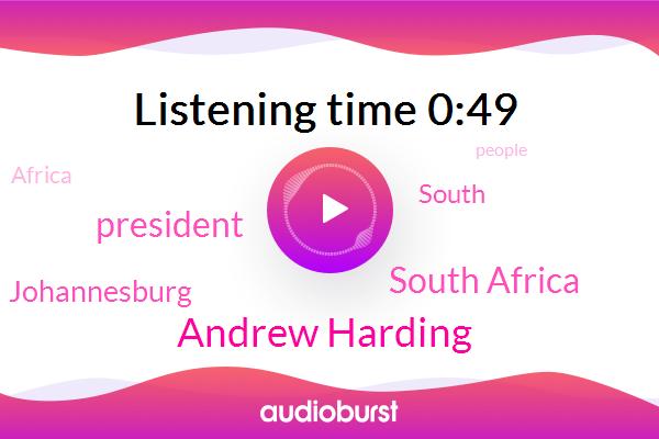 South Africa,Andrew Harding,President Trump,Johannesburg