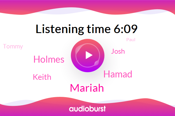 Ketosis,Mariah,Hamad,Holmes,Keith,Josh,Tommy,Paul,LEE