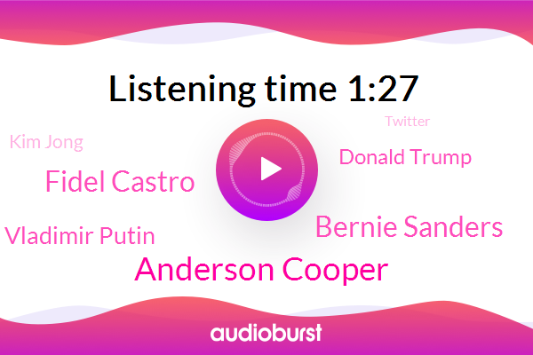 Listen: Bernie Sanders: The 60 Minutes Interview