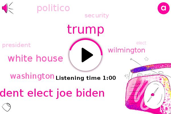 Listen: Biden team cancels inauguration walk-through over security concerns
