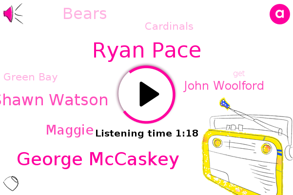 Ryan Pace,George Mccaskey,Green Bay,Shawn Watson,Bears,Maggie,Cardinals,John Woolford