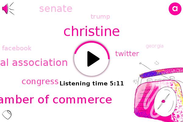 Inc Magazine,Us Chamber Of Commerce,Christine,National Association,Congress,Twitter,Silicon Valley,Senate,Georgia,Sarajevo,Donald Trump,Facebook