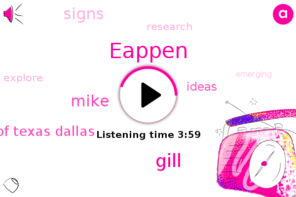 Eappen,University Of Texas Dallas,Gill,Mike