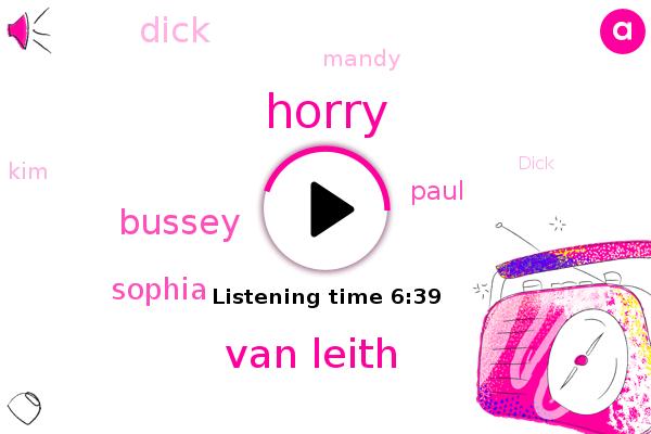 Van Leith,Horry,Bussey,Sophia,Paul,Dick,Mandy,KIM,Youtube,Miami