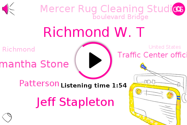 Richmond,Traffic Center Official Insurance Of News,Richmond W. T,Promising State Cove,Mercer Rug Cleaning Studios,United States,Jeff Stapleton,Boulevard Bridge,Samantha Stone,Patterson