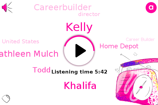 Home Depot,AI,Khalifa,Kelly,Director,United States,Career Builder,Kathleen Mulch,Intern,Careerbuilder,Senior Manager,Todd