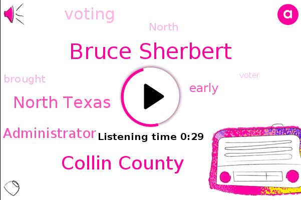 Collin County,Bruce Sherbert,North Texas,Administrator
