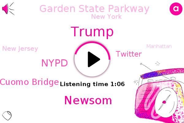 Listen: Pro-Trump Caravans Snarl Traffic, Spur NY Protest