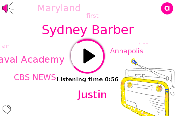 Los Angeles U. S Naval Academy,Sydney Barber,Cbs News,Annapolis,Maryland,Justin