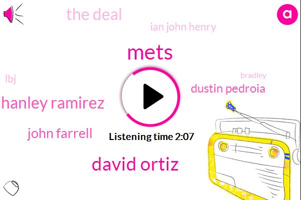 Mets,David Ortiz,Hanley Ramirez,John Farrell,Dustin Pedroia,The Deal,Ian John Henry,LBJ,Bradley,Smith,Jay Bruce