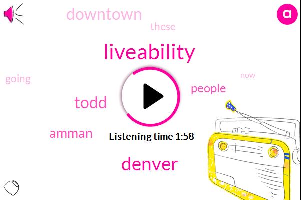 Liveability,Denver,Todd,Amman