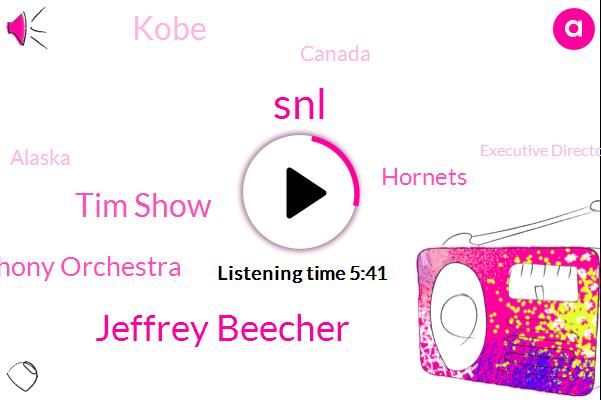 Toronto Symphony Orchestra,Kobe,SNL,Appalachian Spring,Jeffrey Beecher,The Washington Post,Hornets,Canada,Alaska,Executive Director,Tim Show,Baltimore