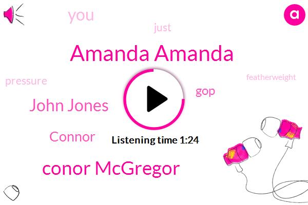 Amanda Amanda,Conor Mcgregor,John Jones,GOP,Connor