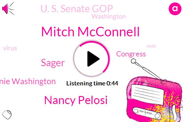 Congress,Washington,Mitch Mcconnell,Nancy Pelosi,Sager,Donnie Washington,U. S. Senate Gop