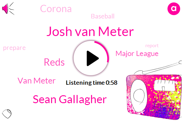 Reds,Josh Van Meter,Van Meter,Sean Gallagher,Lance,Major League,Baseball,Corona