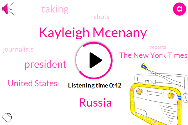Kayleigh Mcenany,President Trump,Russia,United States,The New York Times