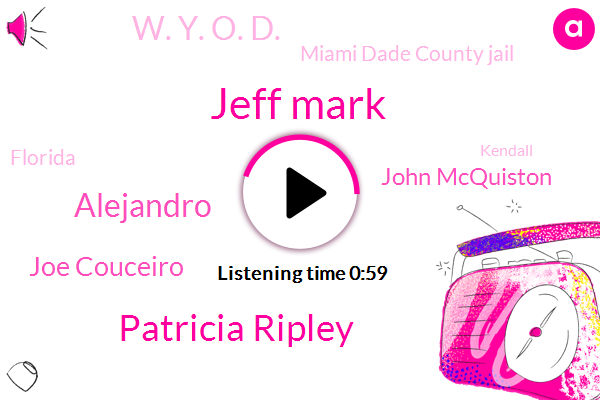 Jeff Mark,South Florida Pond,Patricia Ripley,Miami Dade County Jail,Alejandro,Kendall,Florida,Tampa,Joe Couceiro,John Mcquiston,South Florida,W. Y. O. D.,CEO