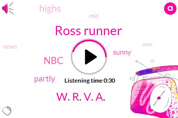 NBC,Ross Runner,ABC,W. R. V. A.