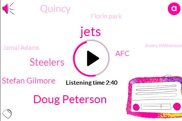 Jets,Doug Peterson,Steelers,Stefan Gilmore,AFC,Quincy,Florin Park,Jamal Adams,Avery Williamson,Levi,Philadelphia,Sam Darnold,Carson Wentz