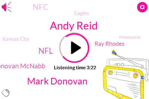 Andy Reid,Mark Donovan,NFL,Donovan Mcnabb,Ray Rhodes,NFC,Eagles,Kansas City,Philadelphia,Brad,Morales