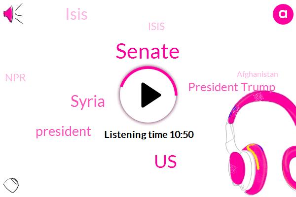 United States,Syria,Senate,President Trump,Isis,NPR,Afghanistan,Congress,North Carolina,Senator Mcconnell,Ruth Sherlock Ruth,Tim Mack,Mitch Mcconnell,Mark Harris,Fraud,Ari Shapiro