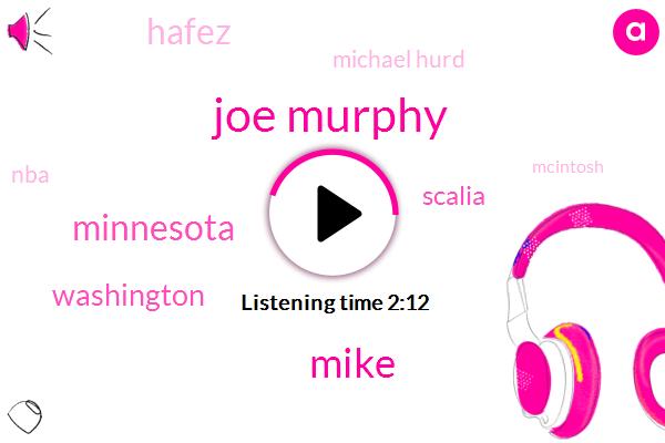 Joe Murphy,Mike,Washington,Minnesota,Scalia,Hafez,Michael Hurd,NBA,Mcintosh,Scully