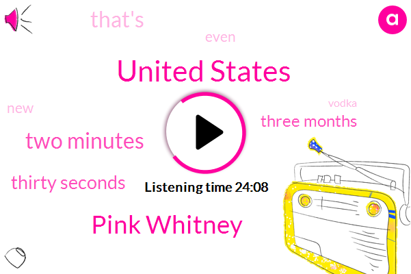 United States,Pink Whitney,Two Minutes,Thirty Seconds,Three Months