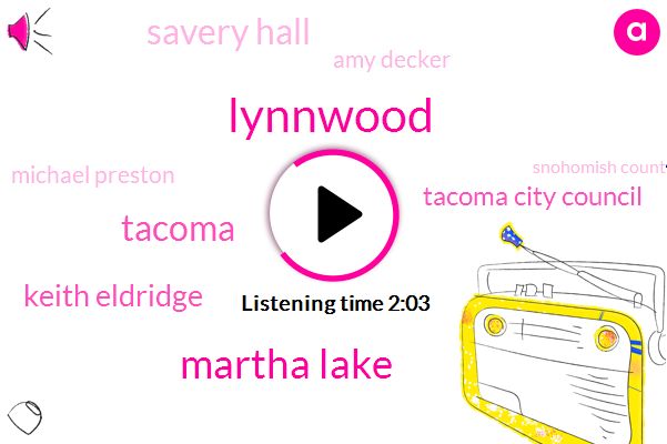 Lynnwood,Martha Lake,Tacoma,Komo,Keith Eldridge,Tacoma City Council,Savery Hall,Amy Decker,Michael Preston,Snohomish County,Lakewood,Mary,University Of Washington,Patrick Quinn,Cambridge,Ninety Days