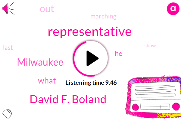 David F. Boland,Representative,Milwaukee