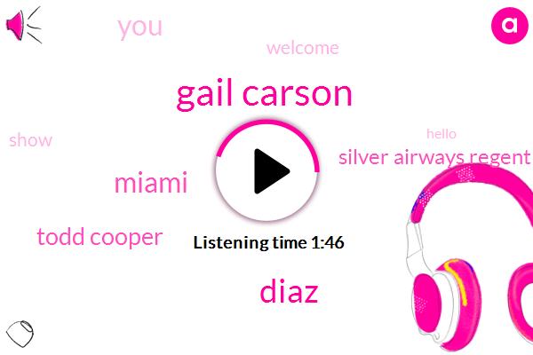 Gail Carson,Diaz,Miami,Todd Cooper,Silver Airways Regent Seven Seas Cruises